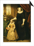 Mary  Queen of Scots (1542 - 1587)  and Her Son James I (1566 - 1625)