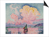 Pink Clouds  Antibes