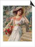 The Flower Girl Early 20th Century