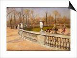 Jardin Du Luxembourg  1883