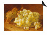 Grapes on a Silver Plate  1893