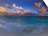 Sunset Over Lagoon at Soneva Fushi Resort in the Baa Atoll