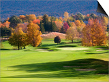Golf course in Manchester  Vermont