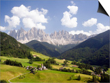 Funes Valley and the Dolomites