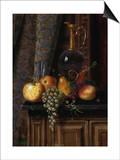 Still Life with Fruit and Claret  1881