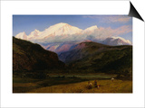 A View of Mont Blanc from Servoz  France