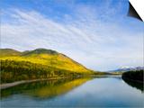 Liard River in Autumn