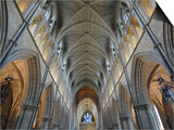 Nave of Southwark Cathedral in London