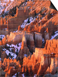 USA  Utah  Bryce Canyon with snow