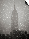 Snowfall in New York City
