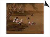 Ducks and Swallows from an Album of Bird Paintings