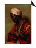 An Arab in Meditation