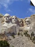USA  South Dakota   Mount Rushmore Stone Carvings of US Presidents  George Washington  Thomas Jeffe