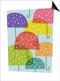 Raining umbrellas