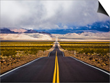 Empty Highway in Death Valley National Park