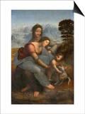 Virgin and Child with St Anne by Leonardo da Vinci