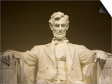 Detail of Lincoln Statue at Lincoln Memorial