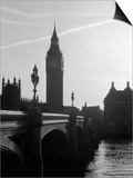 View of Big Ben from Across the Westminster Bridge