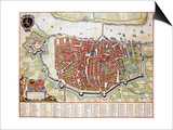 Antverpia  Map of Antwerp
