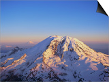 Aerial View of Mount Rainier