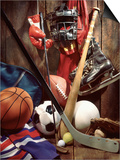 Variety of Sports Equipment