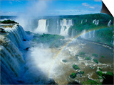 Iguazu Waterfalls and Rainbow