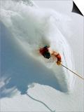 Dave Richards Skiing in Deep Powder Snow