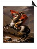 Napoleon on Horseback at the St Bernard Pass
