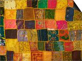 Colorful Carpet  Pushkar  Rajasthan  India