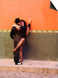 Tango Dancers in Streets of San Miguel De Allende  Mexico