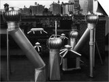 Nancy Newhall's Rooftop  New York City