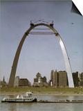 St Louis Arch Undergoing Construction