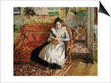 Jeanne Pissarro  Reading