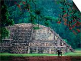 Royal Tomb  Maya  Copan  Honduras