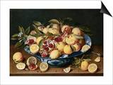 Still Life of Lemons  Oranges  and Pomegranates