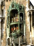 Glockenspiel Details  Marienplatz  Munich  Germany