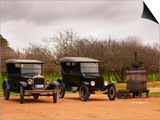 Collection of Vintage Cars  T Fords  Bodega Bouza Winery  Canelones  Montevideo  Uruguay