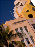 Art Deco Design of Cavalier Hotel  South Beach  Miami  Florida  USA