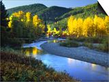 Wenatchee River  Central Cascades  Washington  USA