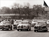 Saloon Car Race at the International '200' Meeting at Aintree  Jaguar S-Type Saloon Car  April 1961