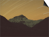 Mt Everest with Stars  Tibet