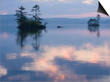 Dawn on Lake Winnepesauke  Moultonboro Neck  Moultonboro  New Hampshire  USA