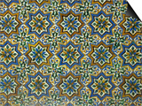 Moorish Mosaic Azulejos (ceramic tiles)  Casa de Pilatos Palace  Sevilla  Spain