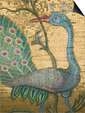 Peacock Mosaic  Eleftherotria Monastery  Macherado  Zakynthos  Ionian Islands  Greece