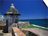 Sentry Box at San Cristobal Fort  El Morro  San Juan  Puerto Rico
