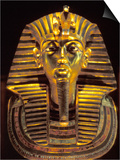 Gold Death Mask  Cairo  Egypt