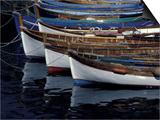 Boats in Harbor  Cinque Terre  Italy