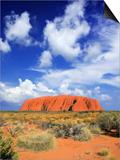 The Holy Mountain of Uluru  Ayers Rock  Uluru-Kata Tjuta National Park  Australia