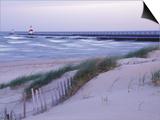 Saint Joseph Lighthouse  Lake Michigan  USA