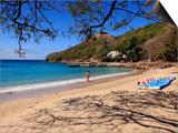 Pigeon Island National Park  St Lucia  Caribbean